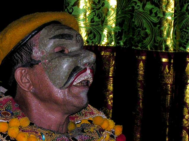 topeng comedie balinaise indonesie representation