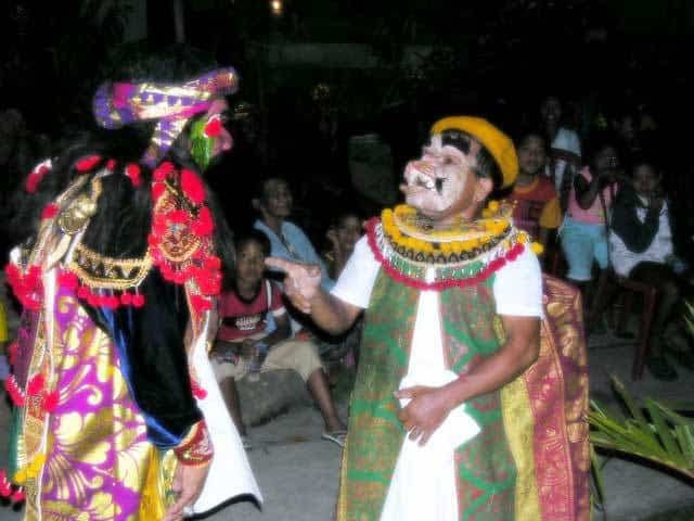 topeng comedie balinaise spectacle indonesie