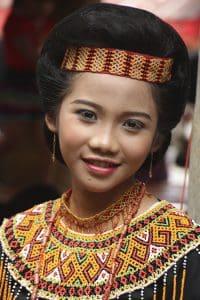 Toraja tenue traditionnelle indonésienne