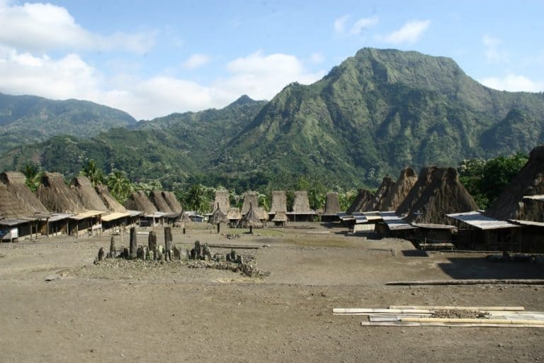village traditionnel Gurusina Flores