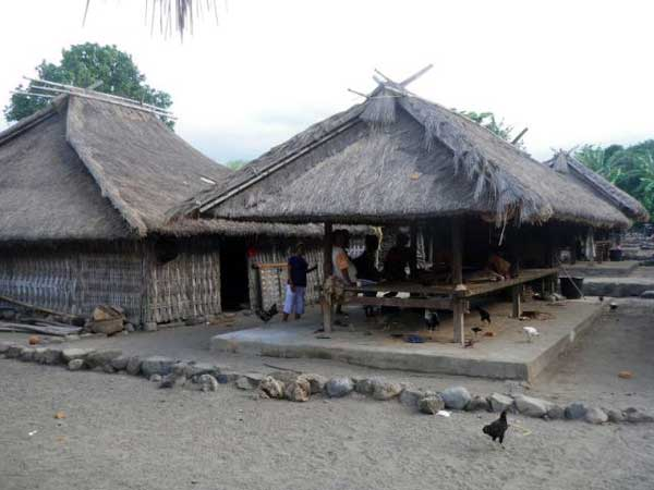 traditional village north lombok
