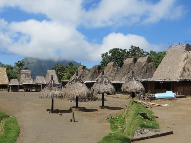 village traditionnel Tololela Flores
