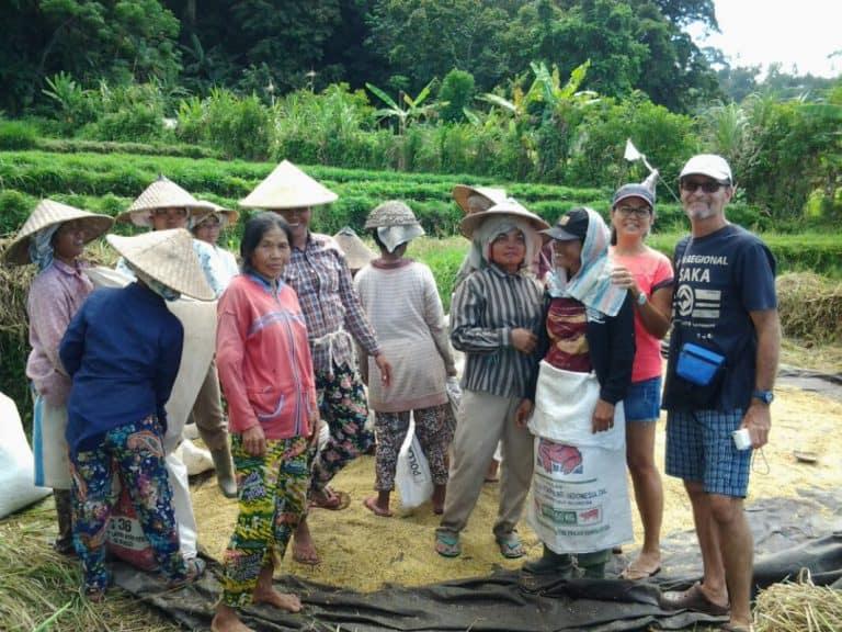 travailleuses balinaises rizières