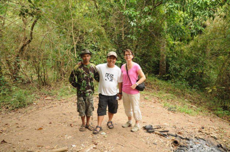 trek guide francophone indonésie