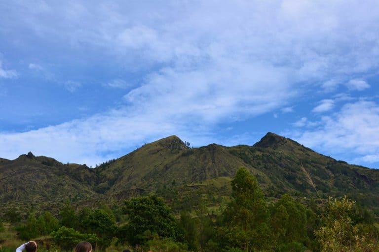 trek mont batur volcan