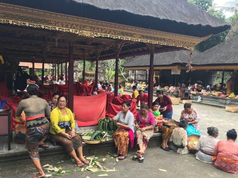vie locale bali indonesie