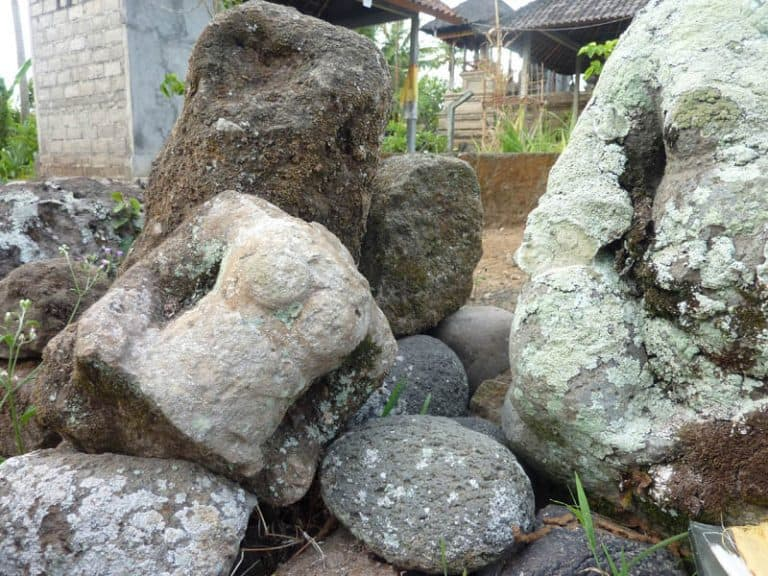 vieux temple bali candi wasan indonesie