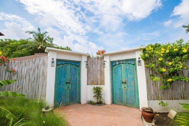 villa lombok gili piscine privative charme