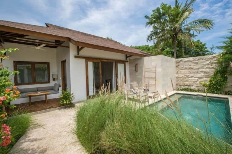 villa lombok gili trawangan piscine privative