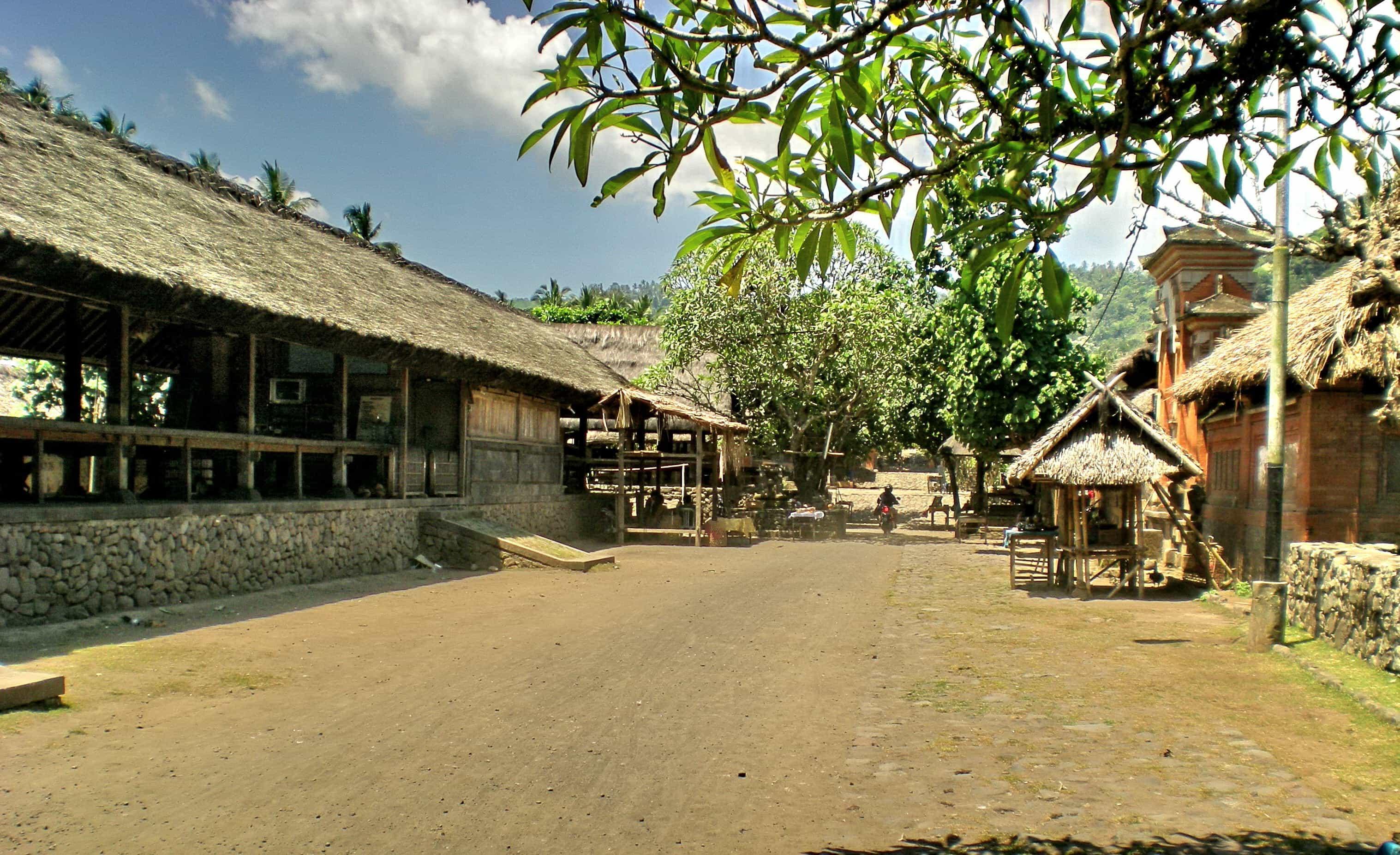 village typique balinais bali aga