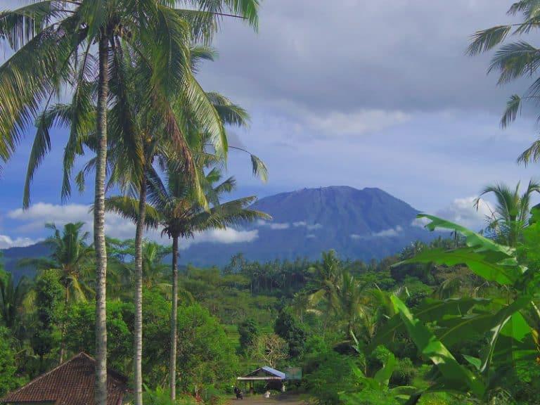 Mont Agun volcan bali trek