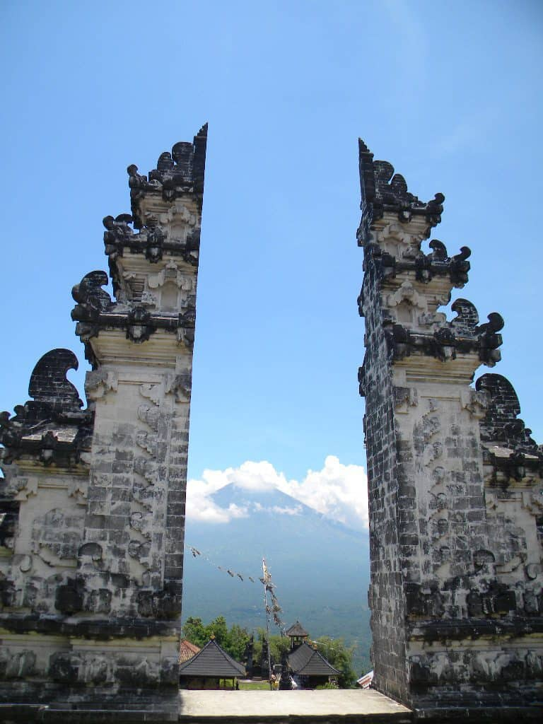 Agung volcan bali voyage tourisme