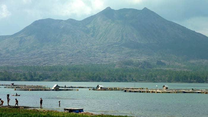 volcan batur bali balade autour lac
