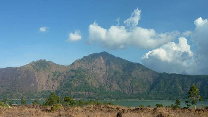volcan batur bali paysage authentique