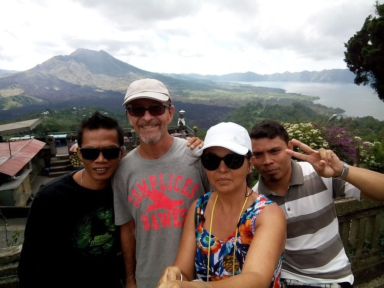 découverte bali indonésie trek volcan