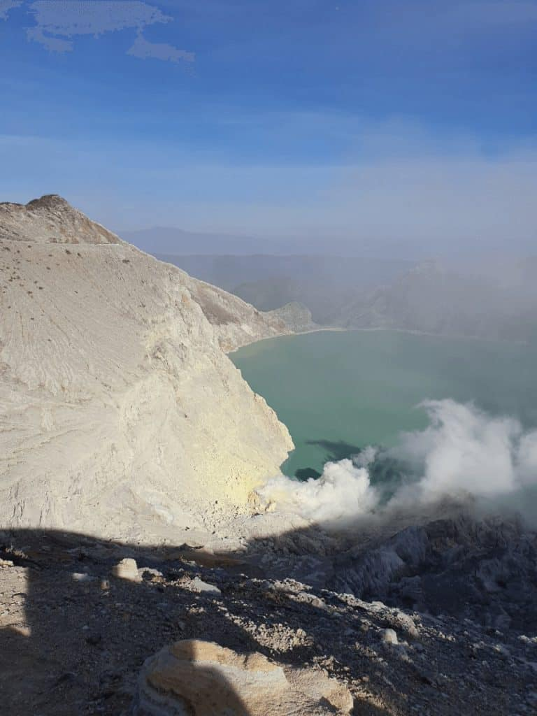 volcan kawah ijen java indonesie