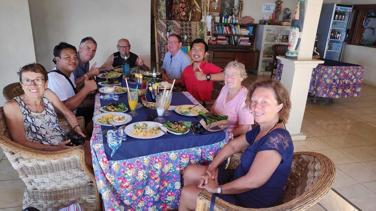 voyage groupe amis Bali Indonesie