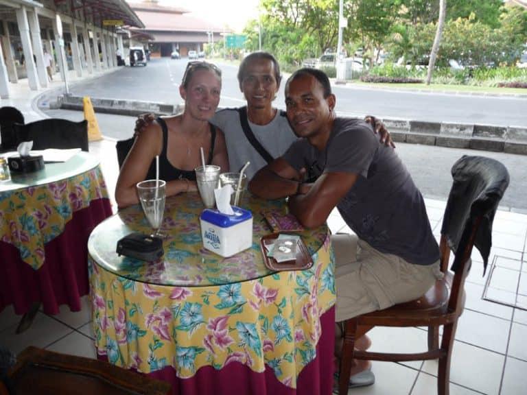 warung balinais pause déjeuner avec guide