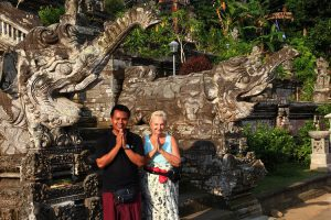 guide francophone excursion bali